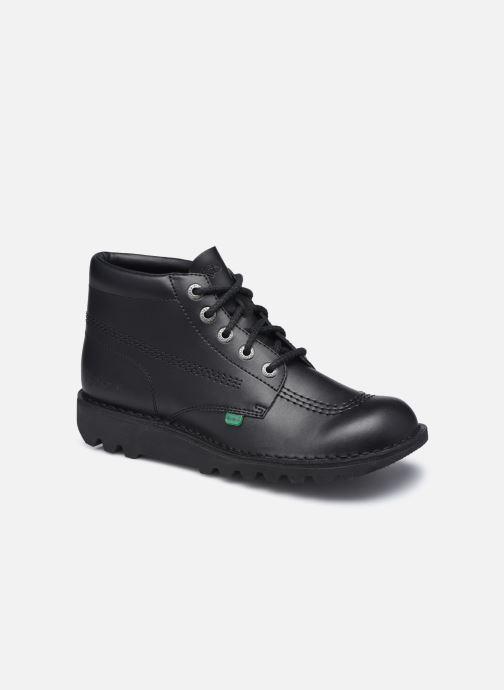 Stiefeletten & Boots Kickers KICK HI schwarz detaillierte ansicht/modell