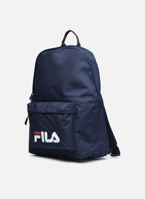Rucksäcke FILA Backpack S'Cool Two blau schuhe getragen
