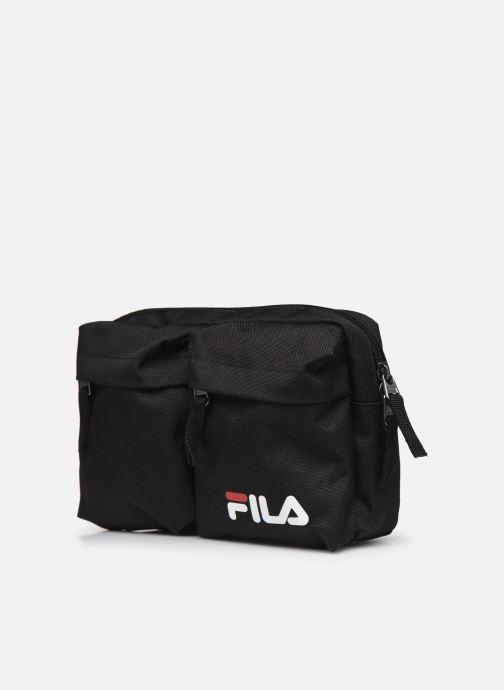 Handtassen FILA Canvas Waistbag Zwart model