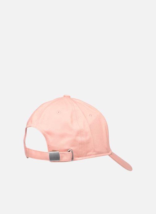 Cappellino FILA Panel Cap Rosa modello indossato