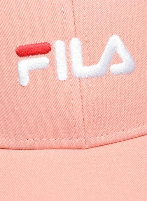 Casquettes FILA Panel Cap Rose vue face