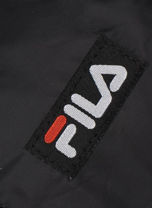 Sporttaschen FILA Mini Barrel Bag schwarz ansicht von links
