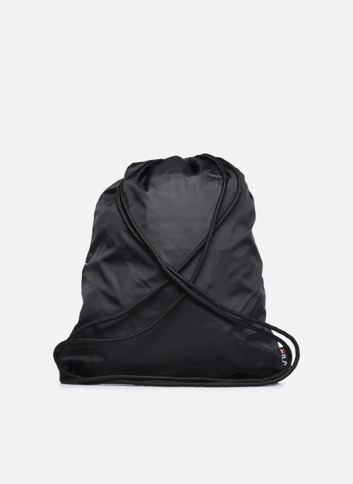 Bolsas de deporte FILA Gym Sack Double Mesh Negro vista de frente