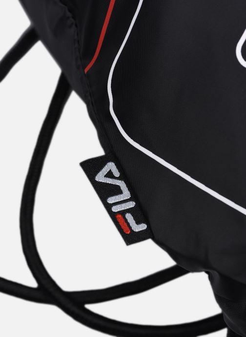 Sacs de sport FILA Gym Sack Double Mesh Noir vue derrière