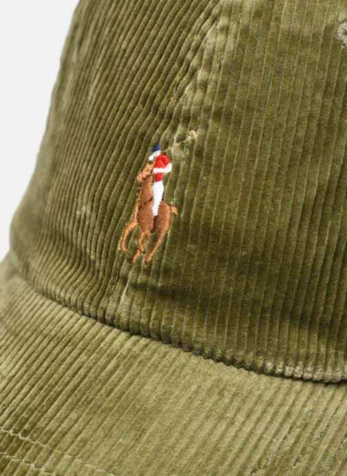 Kappe Polo Ralph Lauren Chapeau Bob Pony 2 grün ansicht von vorne