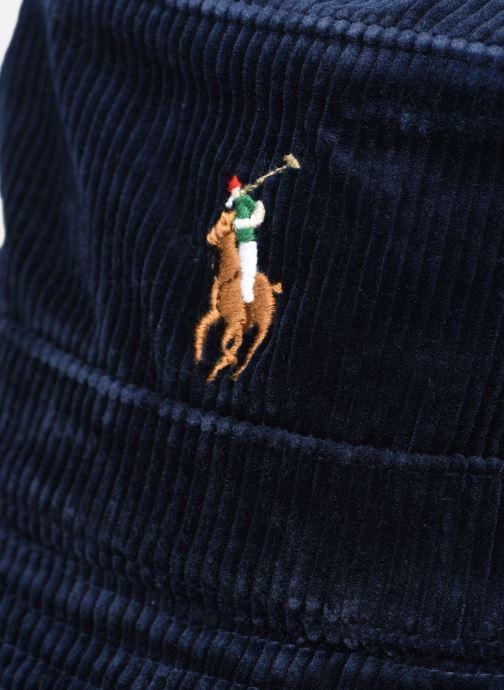 Kappe Polo Ralph Lauren Chapeau Bob Pony 2 blau ansicht von vorne