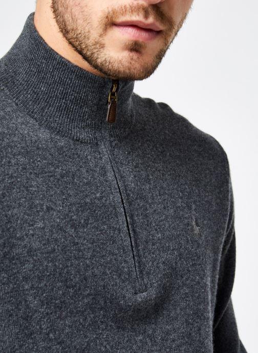 Vêtements Polo Ralph Lauren Pull ML Sweater Pony 2 Gris vue face