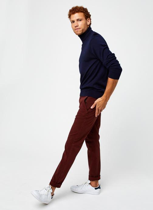 Vêtements Polo Ralph Lauren Sweat ML Pony Bleu vue bas / vue portée sac