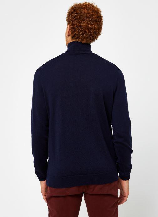 Polo Ralph Lauren Sweat ML Pony (Bleu) - Vêtements chez Sarenza (470549) NKd5E