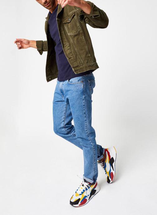 Vêtements Polo Ralph Lauren Tee-Shirt ML Pony Bleu vue bas / vue portée sac