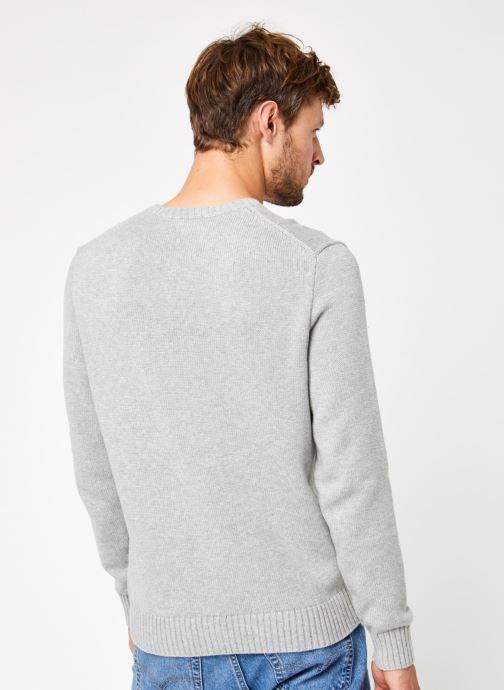 Vêtements Polo Ralph Lauren Sweatshirt ML Pony Gris vue portées chaussures