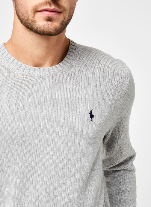 Vêtements Polo Ralph Lauren Sweatshirt ML Pony Gris vue face