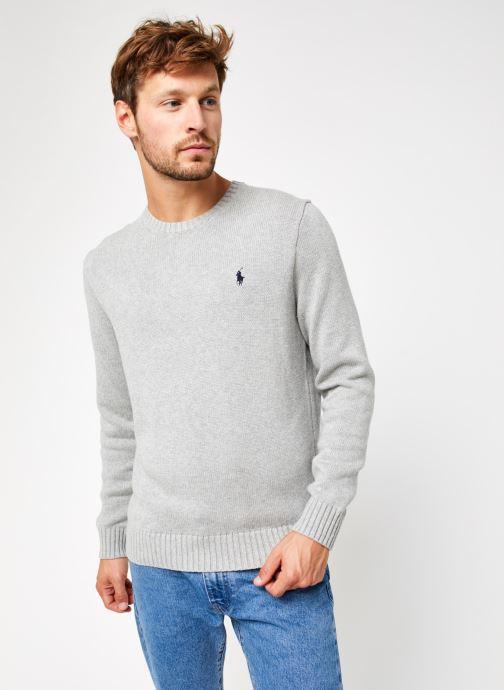 Vêtements Polo Ralph Lauren Sweatshirt ML Pony Gris vue droite