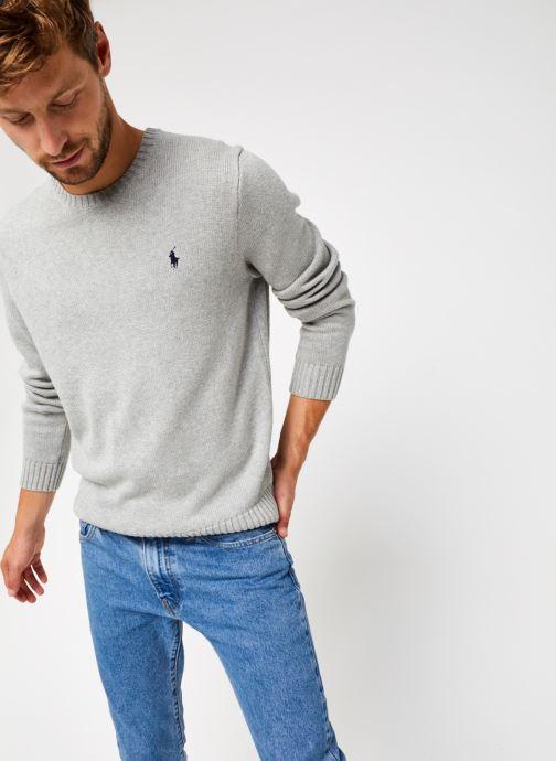 Vêtements Polo Ralph Lauren Sweatshirt ML Pony Gris vue détail/paire