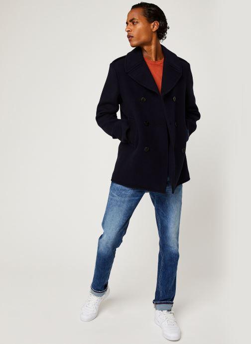 Vêtements Polo Ralph Lauren Polo MC Peacoat Pony Bleu vue bas / vue portée sac
