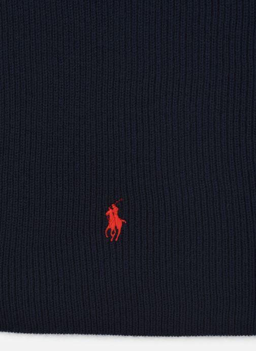 Schal Polo Ralph Lauren Oblong Pony Scarf 2 blau schuhe getragen