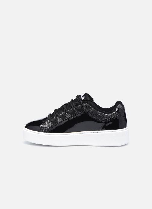 Sneaker FILA Overstate x Aversario F Low W schwarz ansicht von vorne