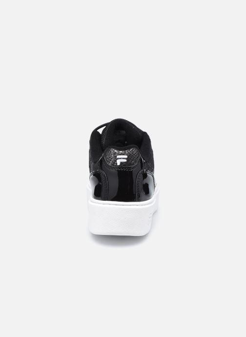 Sneaker FILA Overstate x Aversario F Low W schwarz ansicht von rechts