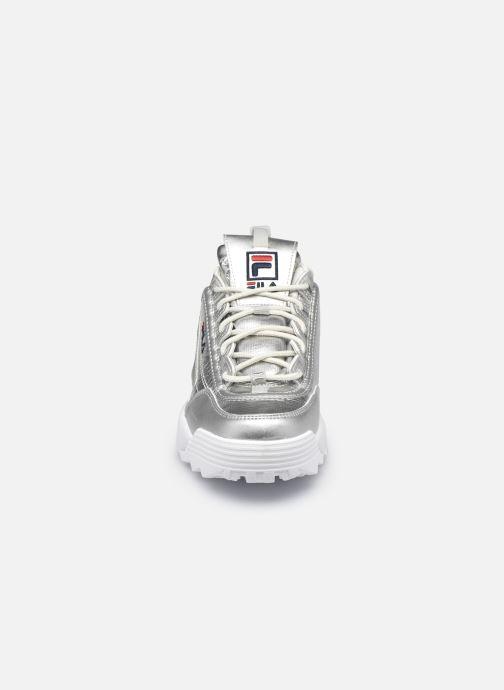 Baskets FILA Disruptor F Low W Argent vue portées chaussures