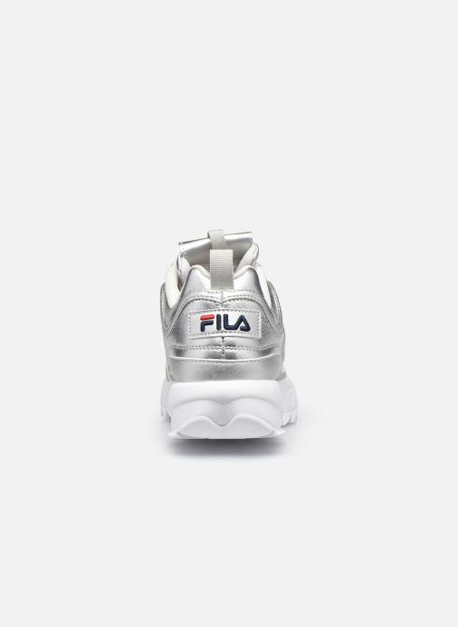 Baskets FILA Disruptor F Low W Argent vue droite