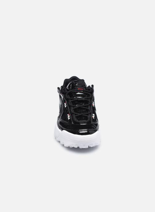 Sneakers FILA D-Formation F Wmn Nero modello indossato