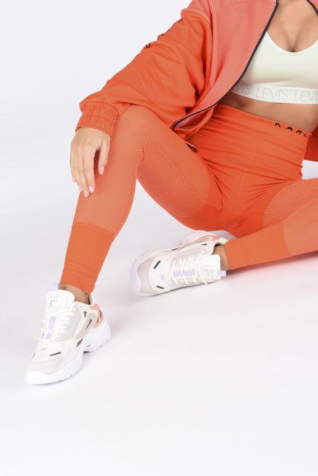 Sneaker FILA Eletto Low W rosa ansicht von unten / tasche getragen