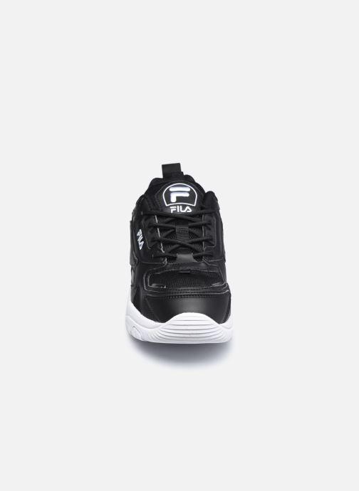 Sneaker FILA Eletto Low W schwarz schuhe getragen