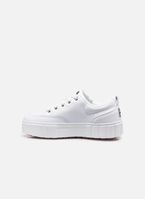 Sneaker FILA Sandblast L W weiß ansicht von vorne