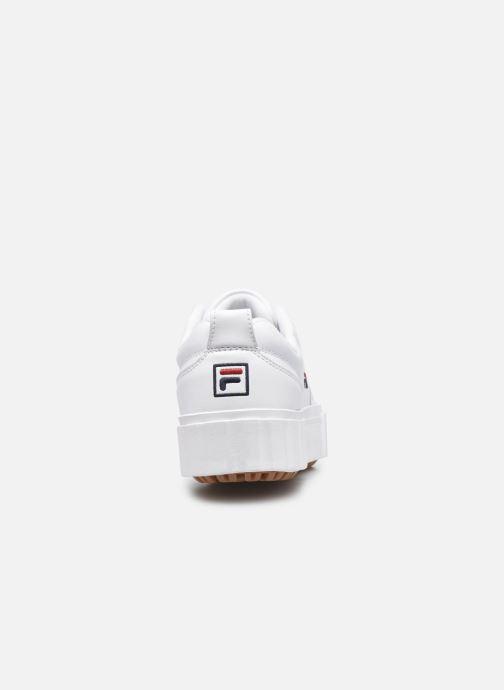 Sneaker FILA Sandblast L W weiß ansicht von rechts