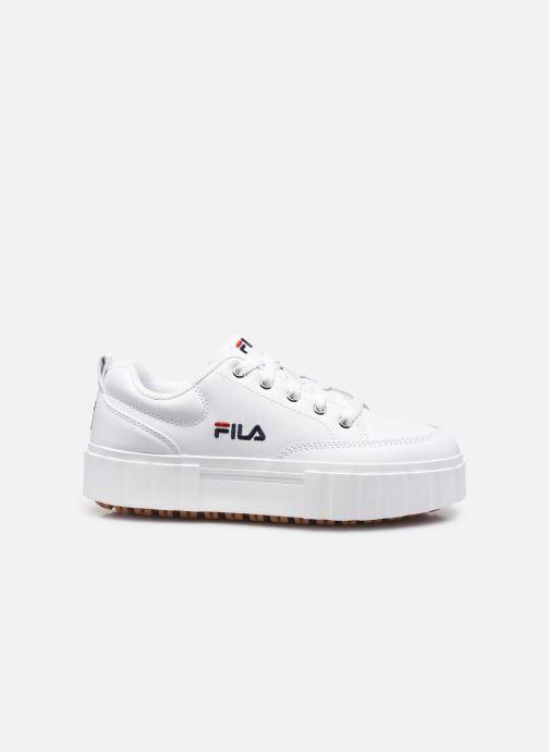 Sneaker FILA Sandblast L W weiß ansicht von hinten