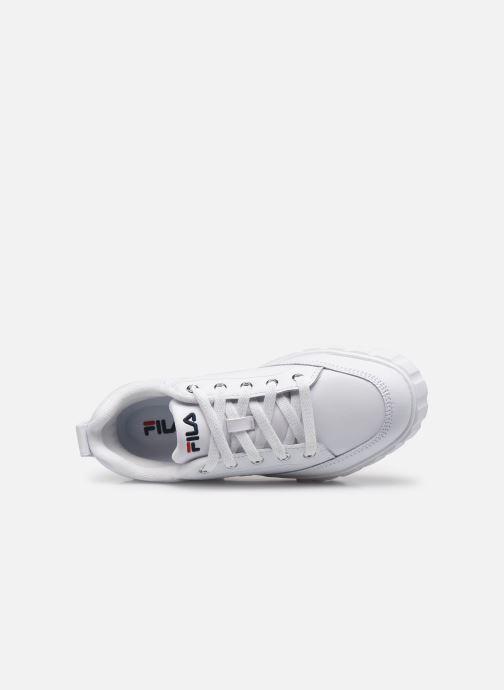 Sneaker FILA Sandblast L W weiß ansicht von links