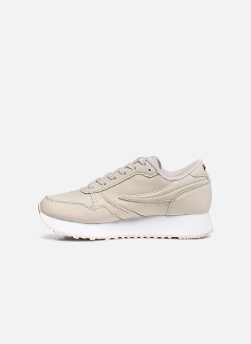 Sneakers FILA Orbit Zeppa L W Beige immagine frontale