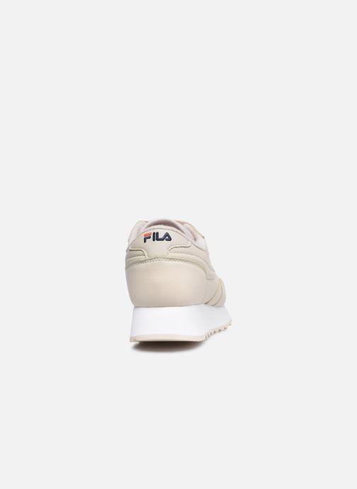 Sneakers FILA Orbit Zeppa L W Beige immagine destra