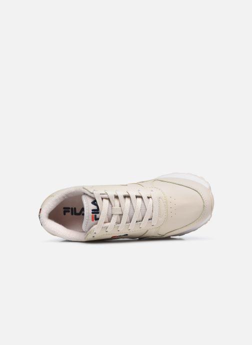 Sneakers FILA Orbit Zeppa L W Beige immagine sinistra