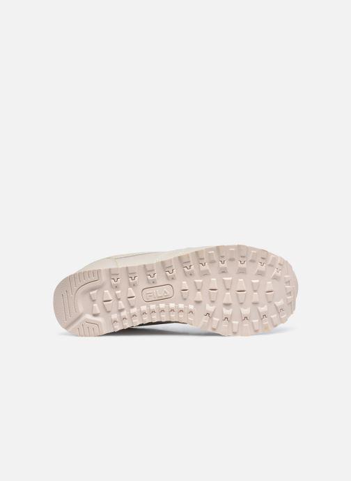 Sneakers FILA Orbit Zeppa L W Beige immagine dall'alto