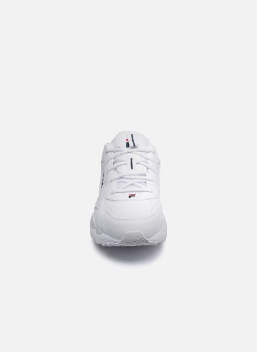Sneaker FILA Melody W weiß schuhe getragen
