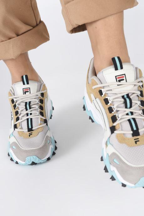 Sneaker FILA Trail WK CB W beige ansicht von unten / tasche getragen