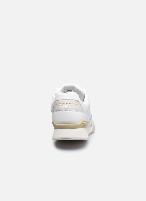 Sneakers FILA Netpoint L Low Bianco immagine destra