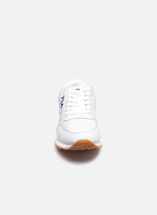 Sneaker FILA Orbit Jogger Low weiß schuhe getragen