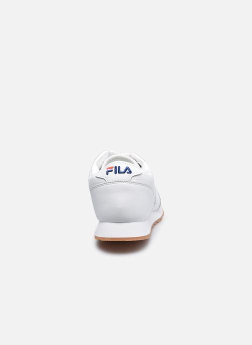 Sneaker FILA Orbit Jogger Low weiß ansicht von rechts