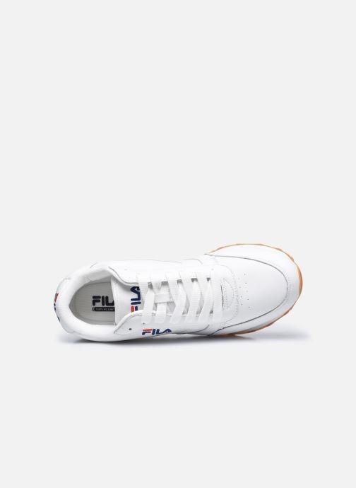 Sneaker FILA Orbit Jogger Low weiß ansicht von links