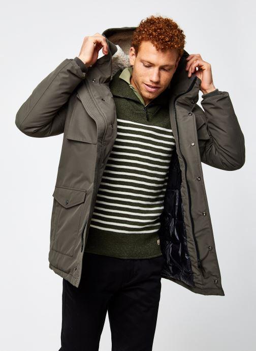 Vêtements Schott Harriss Parka Vert vue détail/paire