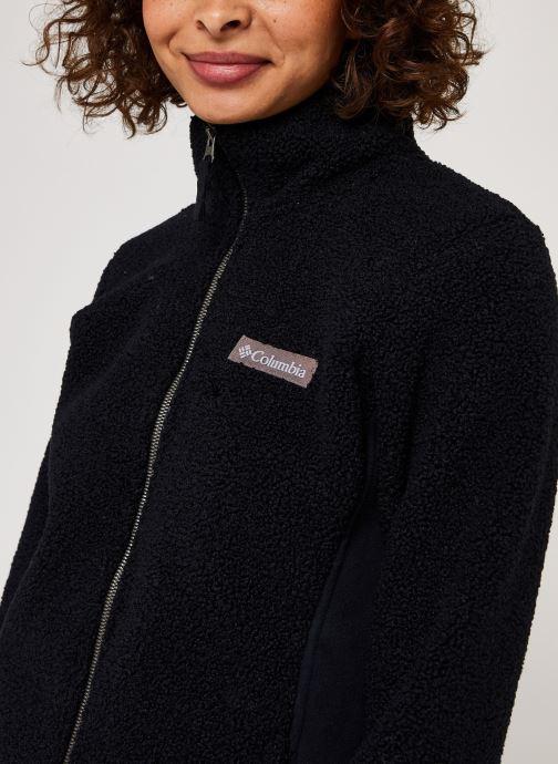 Vêtements Columbia Panorama Full Zip Noir vue face