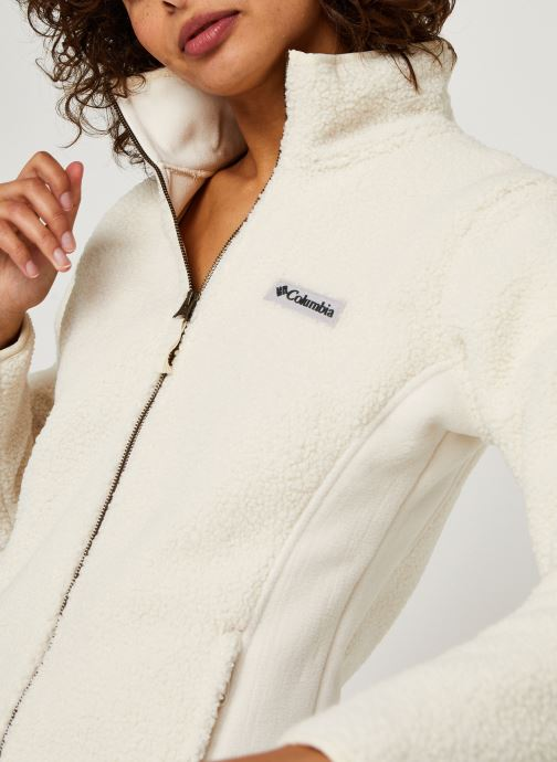 Vêtements Columbia Panorama Full Zip Blanc vue face