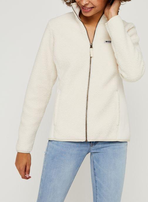 Vêtements Columbia Panorama Full Zip Blanc vue détail/paire