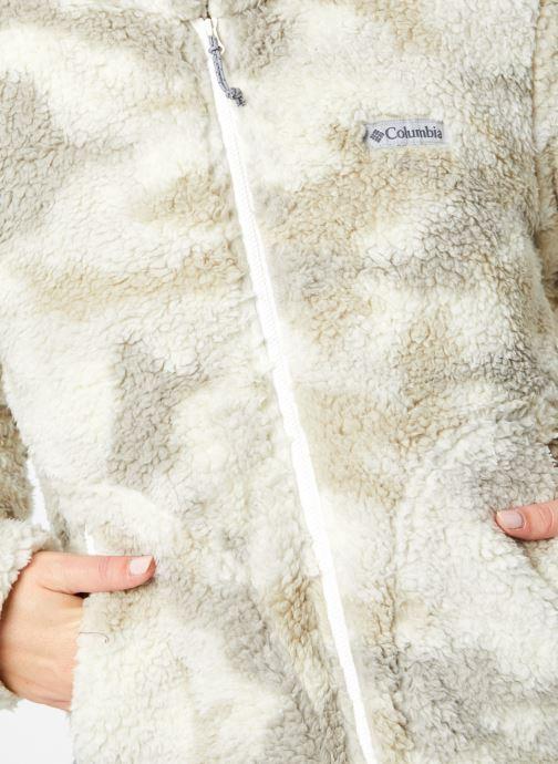 Vêtements Columbia Winter Pass Sherpa Full Zip Beige vue face