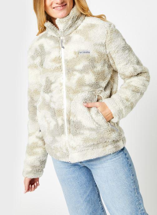 Vêtements Columbia Winter Pass Sherpa Full Zip Beige vue droite