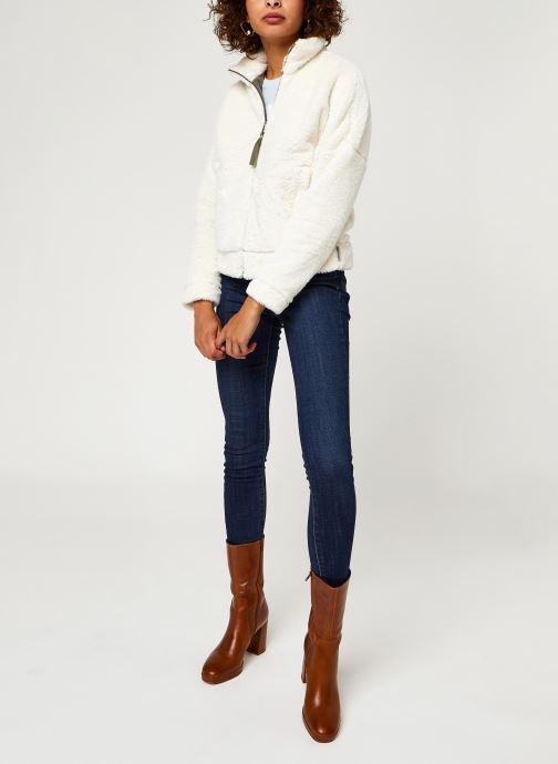 Vêtements Columbia Bundle Up Full Zip Fleece Blanc vue bas / vue portée sac