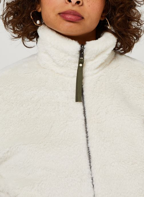 Vêtements Columbia Bundle Up Full Zip Fleece Blanc vue face