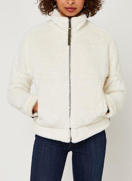 Vêtements Columbia Bundle Up Full Zip Fleece Blanc vue droite
